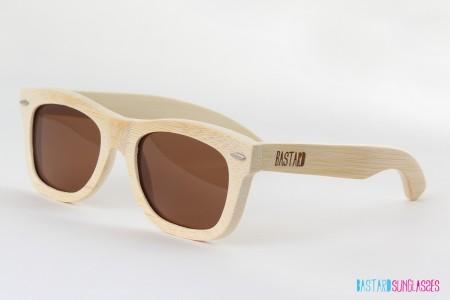 Bamboo Sunglasses - The Classic, Chocolate/Brown - Bastard Sunglasses