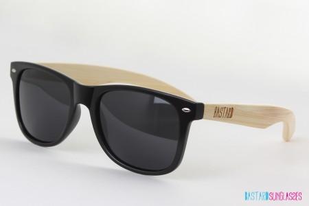 Bamboo Sunglasses - The Blues Brother, Black - Bastard Sunglasses