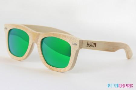 Bamboo Sunglasses - The Classic, Frogeye - Bastard Sunglasses