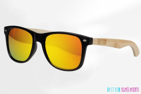 Bamboo Sunglasses - The Blues Brother, Ibiza Sunrise - Bastard Sunglasses