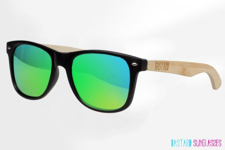 Bamboo Sunglasses - The Blues Brother, Frogeye - Bastard Sunglasses
