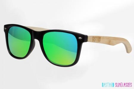 Bamboo Sunglasses - The Blues Brother, Frogeye - Bastard Sunglasses